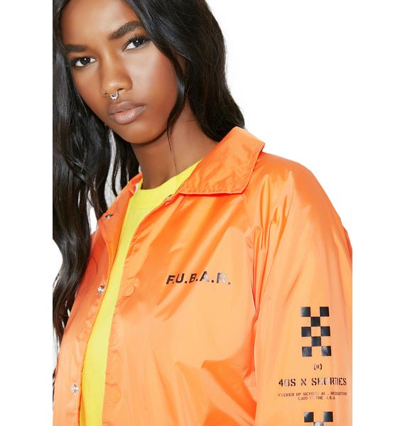 40s & Shorties F.U.B.A.R. Coaches Jacket