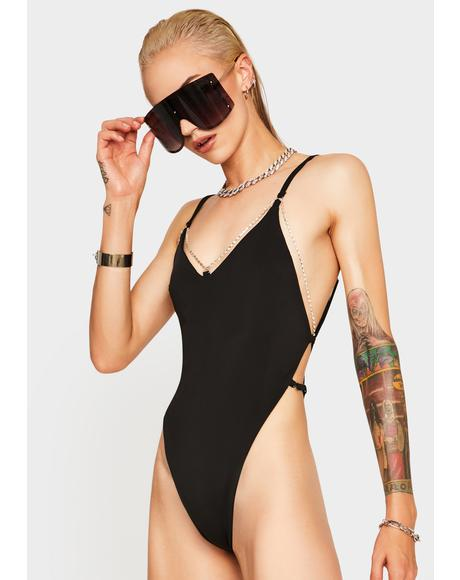 Midnight Taurus One Piece Swimsuit