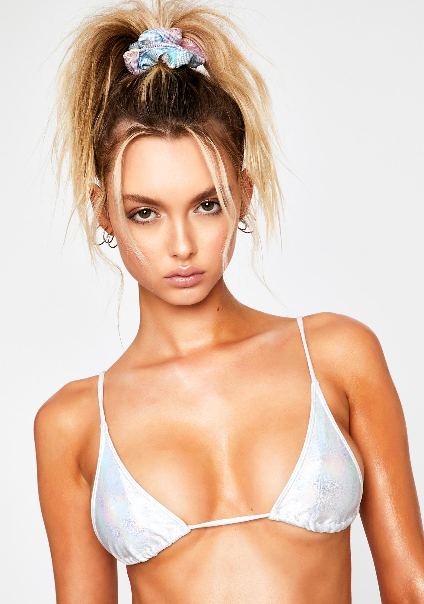 Minimale Animale Moondust Prism Sacred Bikini Top