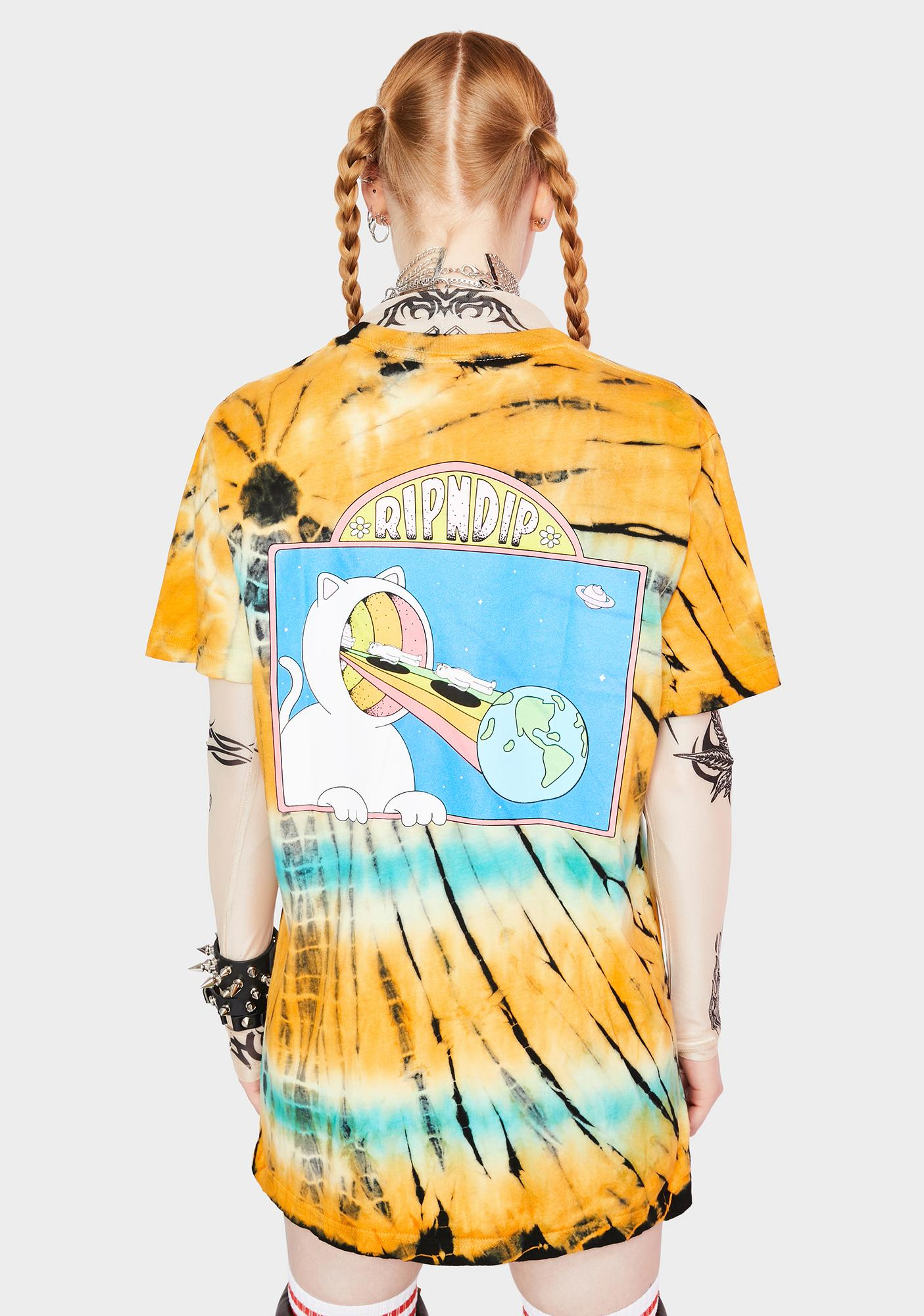 RIPNDIP Open Minded Graphic Tee