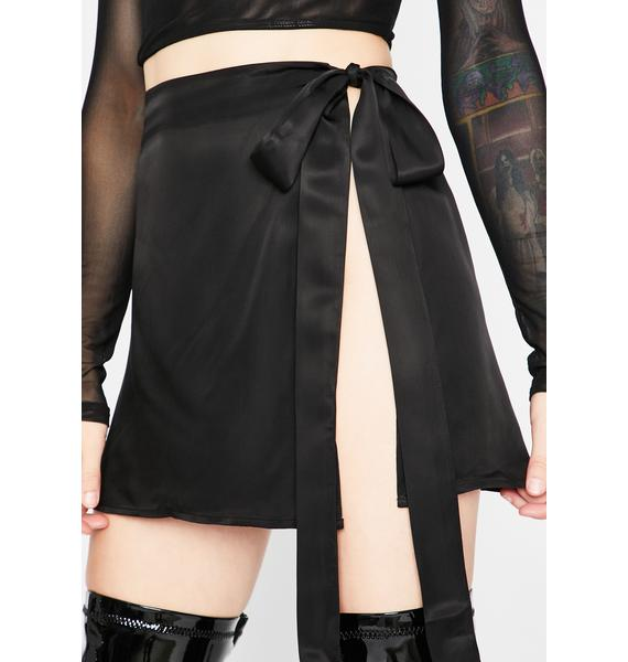 Current Mood Complete Chaos Wrap Skirt