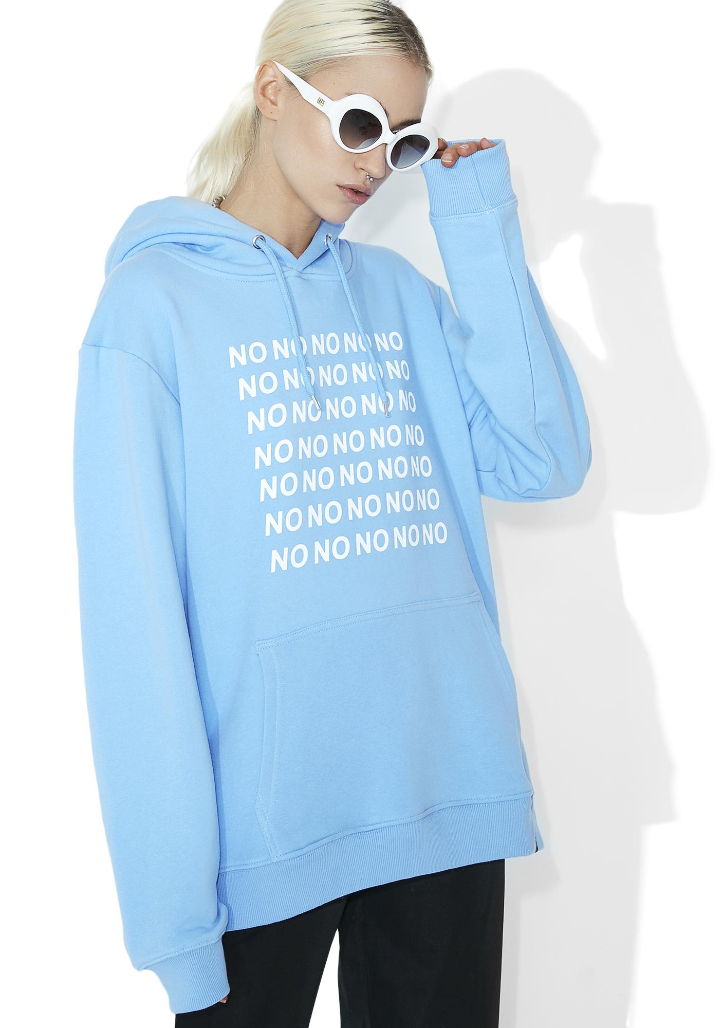 Illustrated People No No No Hoodie