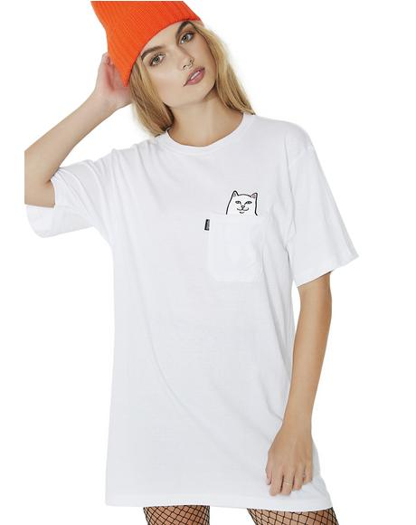 Creamy Lord Nermal Pocket Tee