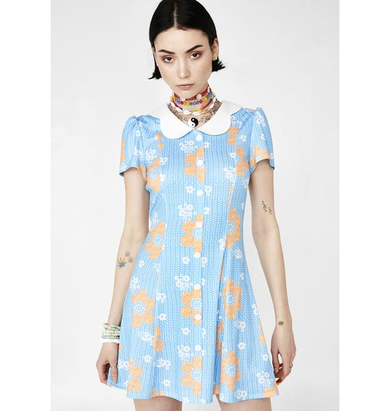 Current Mood Harmony Lane Floral Dress