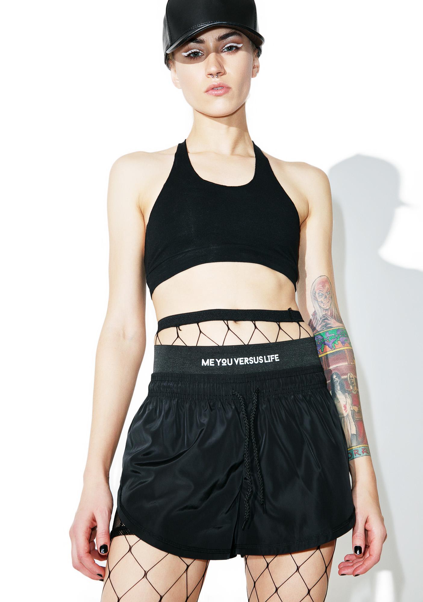 MeYouVersusLife Mesh Sport Shorts