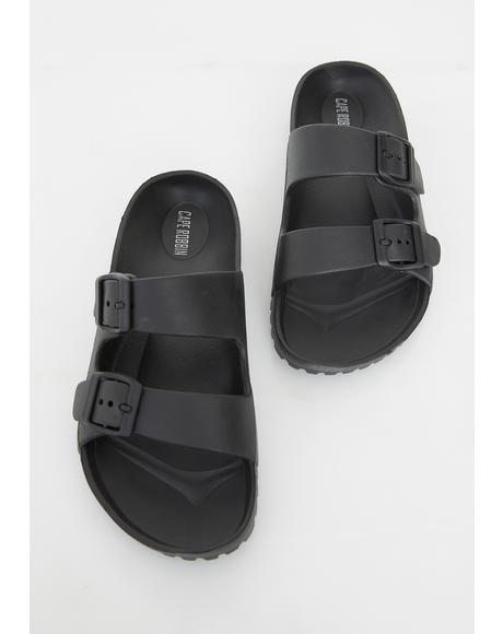 Buckle Down Shawty Sandals