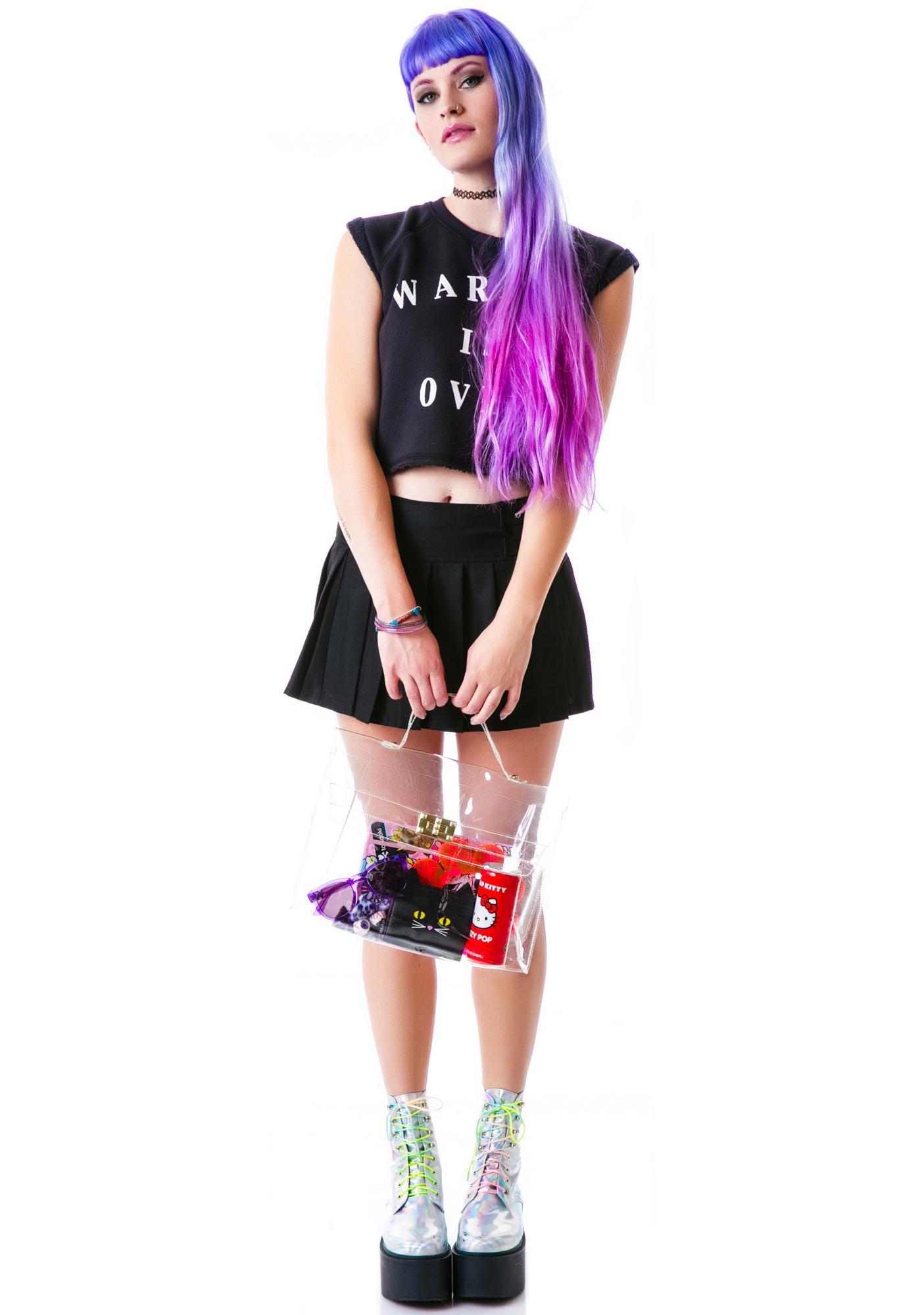 Doll Vinyl Transparent Kelly Bag