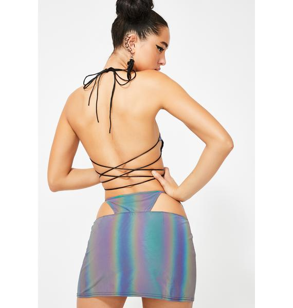 Club Exx Spectral Frequency Reflective Skirt