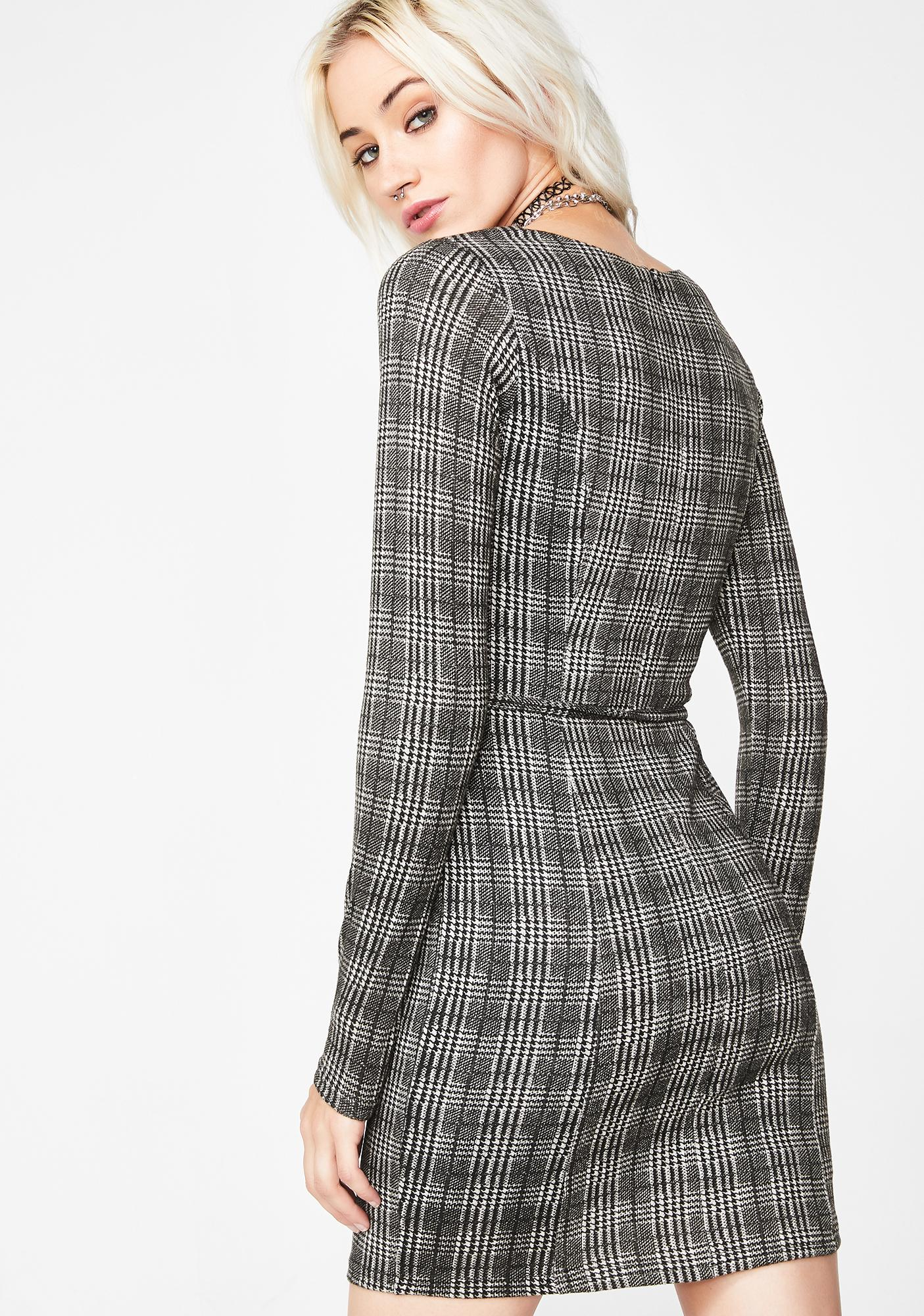 Wicked Company Plaid Dress