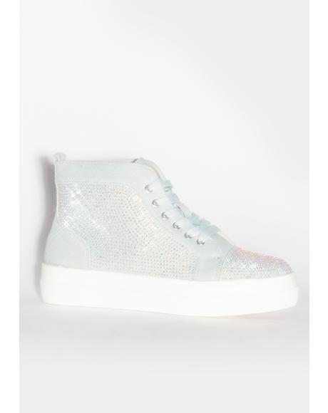 Jumpman Rhinestone Sneakers