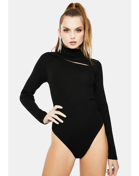 Sandra Mock Neck Bodysuit