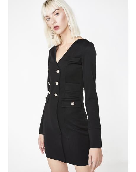 Boss Up Blazer Dress
