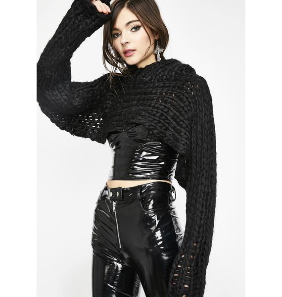 Chic Freak Sweater Shrug