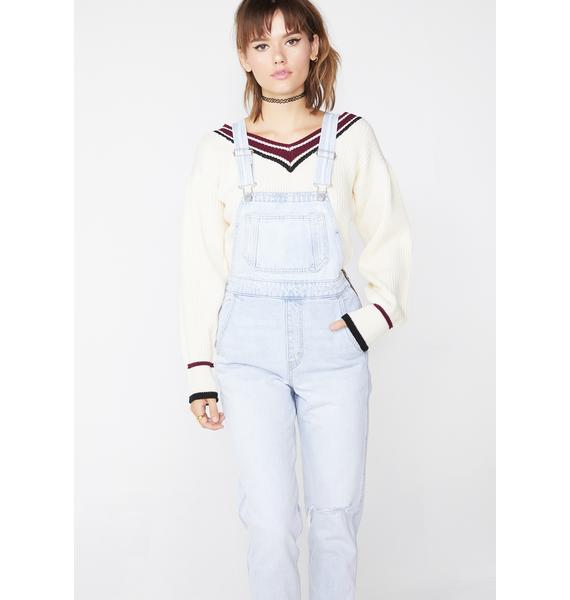 Levis Donna Martin Skinny Overalls