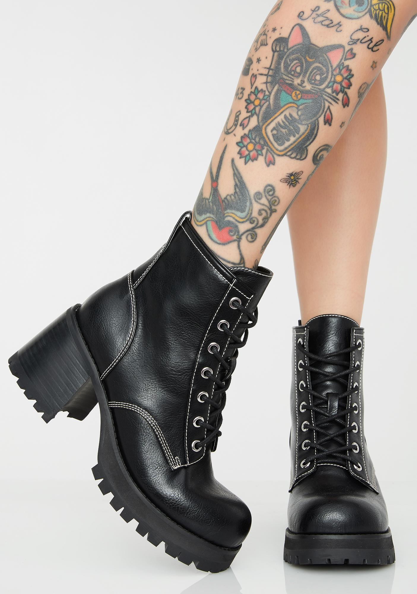 Current Mood Anti Matter Platform Boots