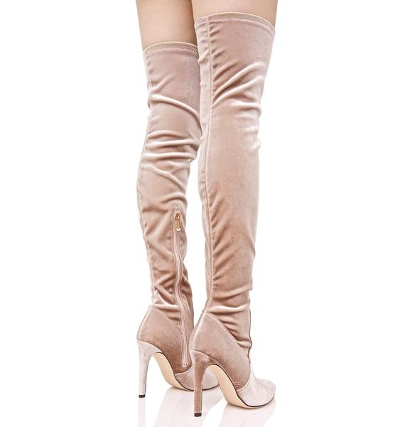 Sweet Arabella Thigh-High Boots
