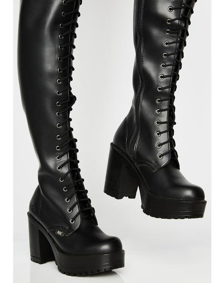 Lavish Thigh High Boots