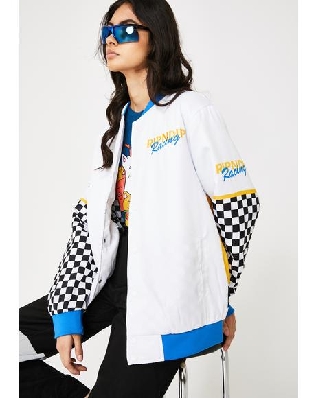 Speed Racing Varsity Jacket