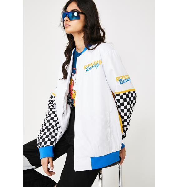 RIPNDIP Speed Racing Varsity Jacket