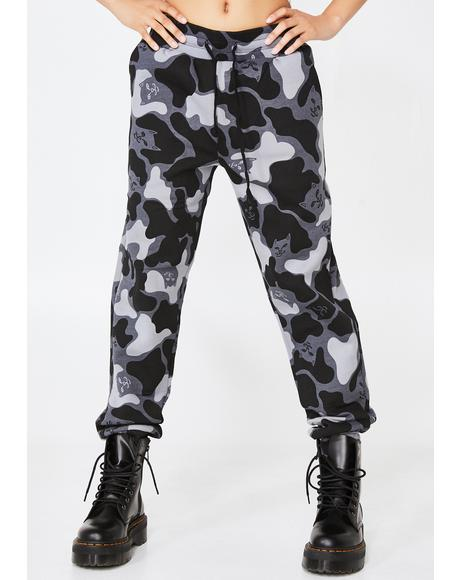 Blackout Nerm Camo Track Pants