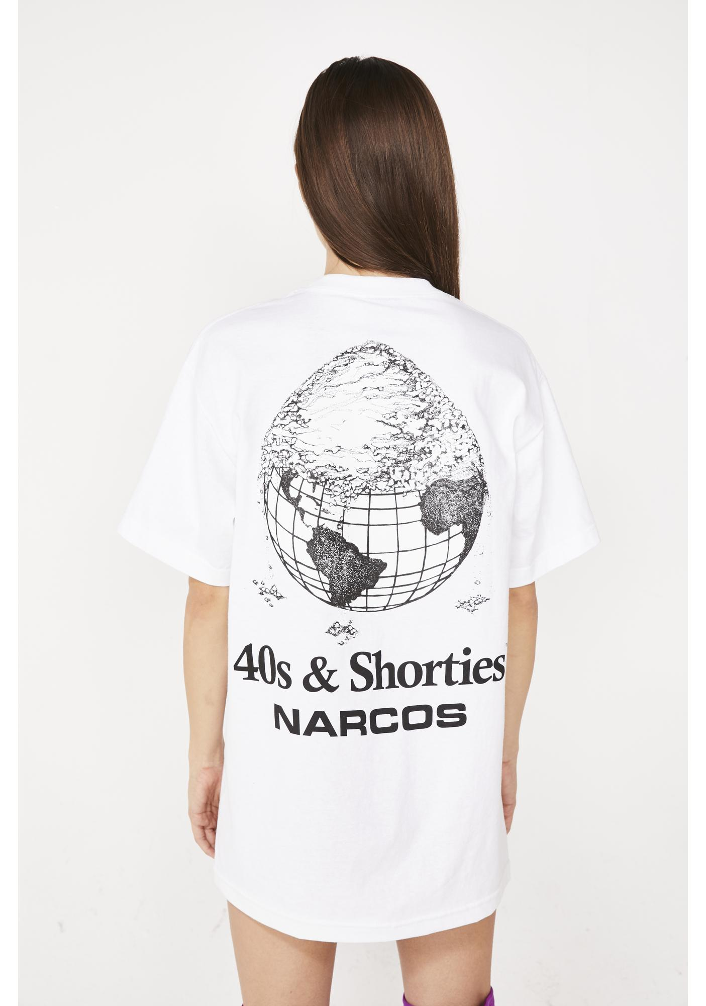 40s & Shorties X Narcos Cover The Earth Tee