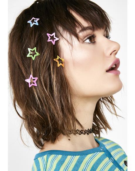 Stardust Sass Hair Clip Set