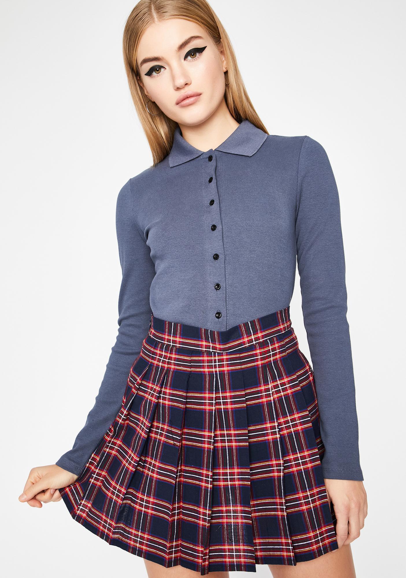 Royal Miss Popular Pleated Skirt