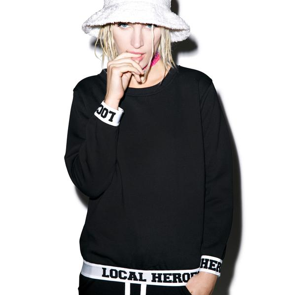 Local Heroes LH Black Sweatshirt