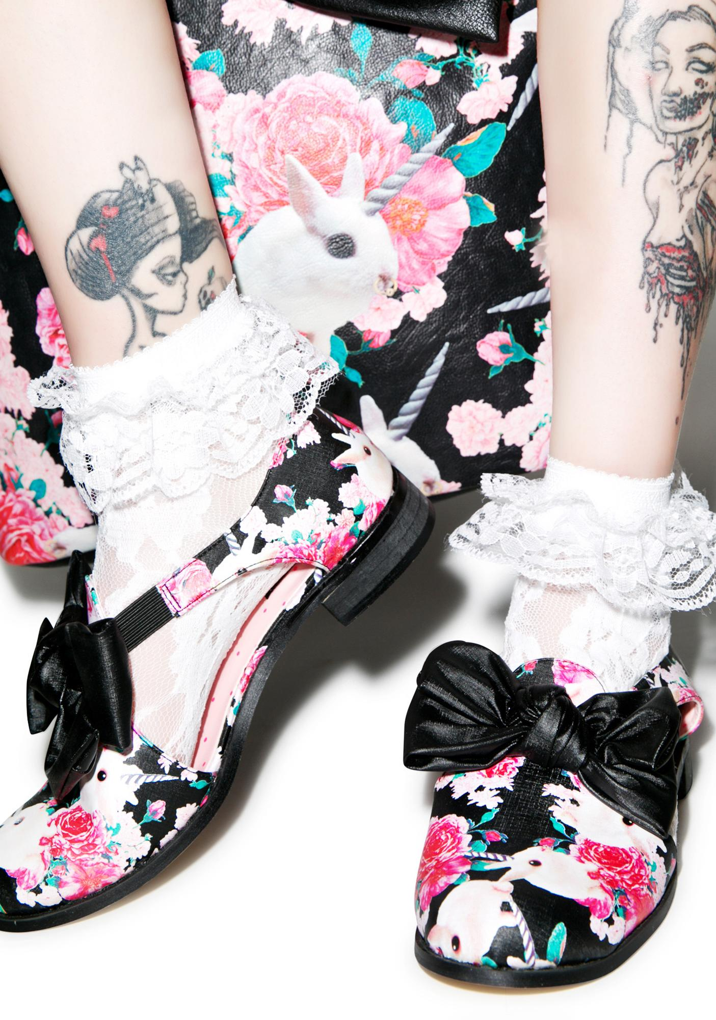 Iron Fist Buns N' Roses Oxfords
