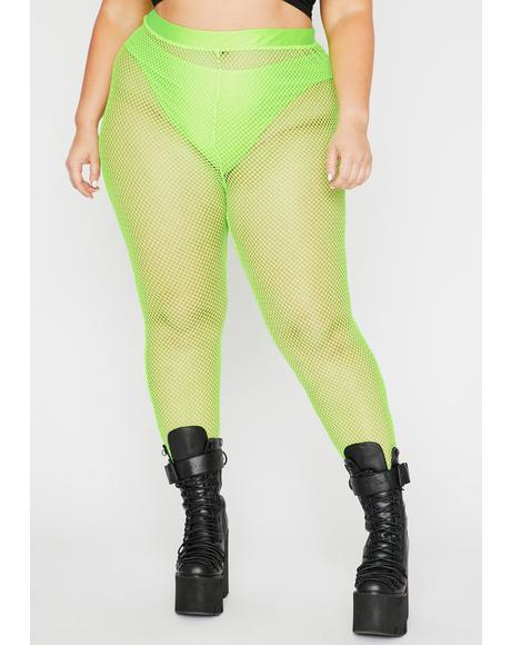 Toxic Mz Play Or Slay Fishnet Leggings
