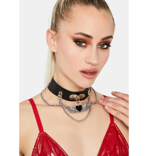 Lockdown On Love Chain Choker