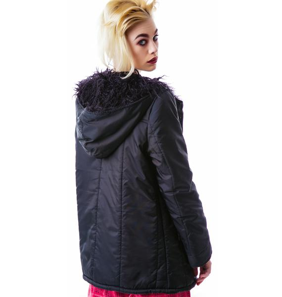 Mink Pink Puff And Stuff Jacket