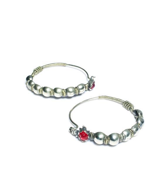 Sorceress Hoop Earrings