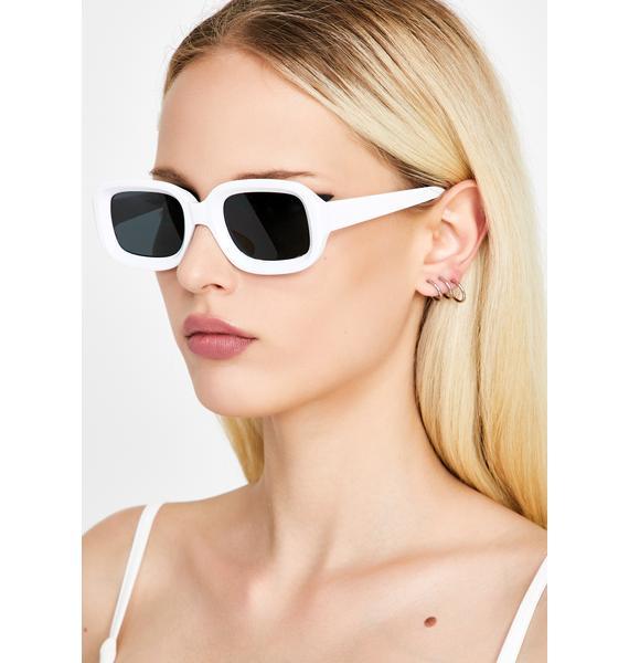 Icy Made Ya Look Square Sunglasses