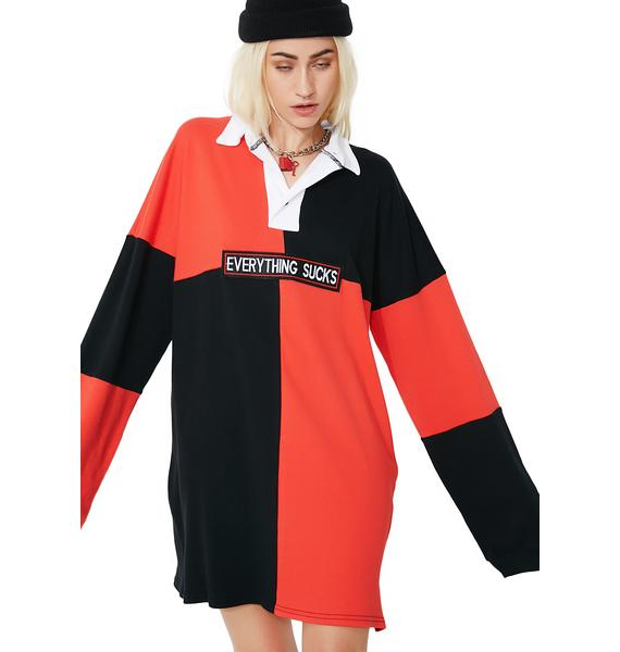 The Ragged Priest Gloom Rugby Dress
