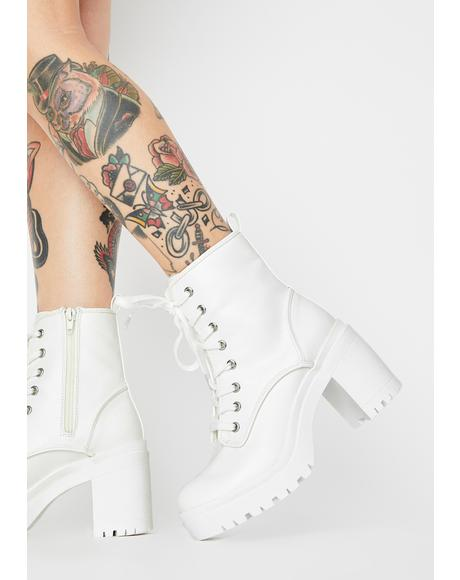 Frosty Regal Nights Ankle Boots