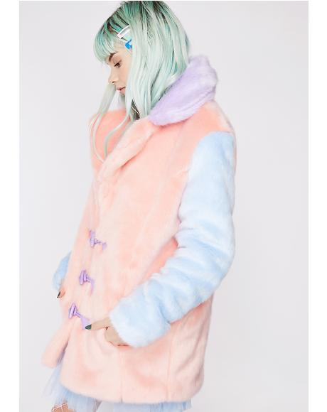 Sweet Luvin' Fuzzy Coat