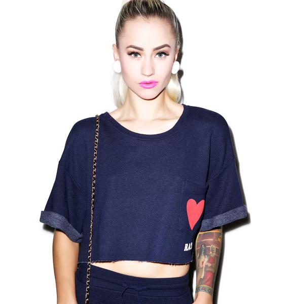 Wildfox Couture Heart Rate Science Sweatshirt