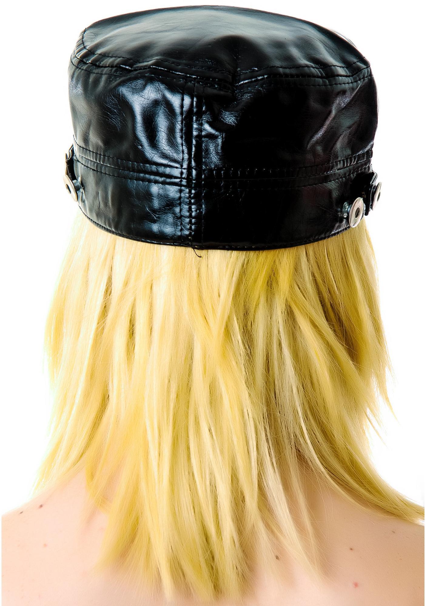 Venom Leather Cap
