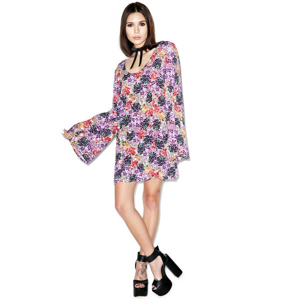 Somedays Lovin Faithful Floral Dress
