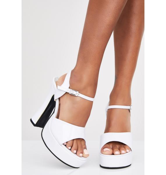 Angelic Heaux Platform Heels