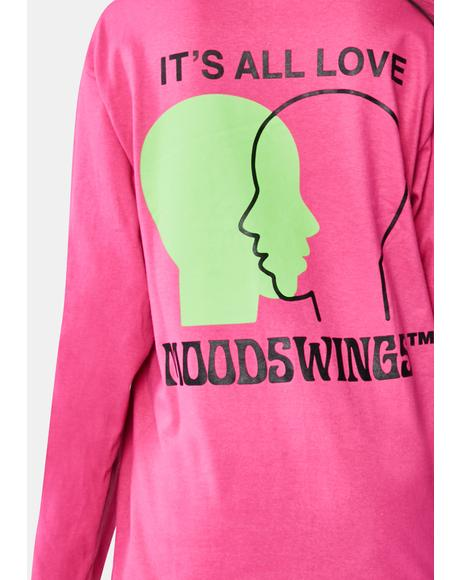 It's All Love Long Sleeve Graphic Tee