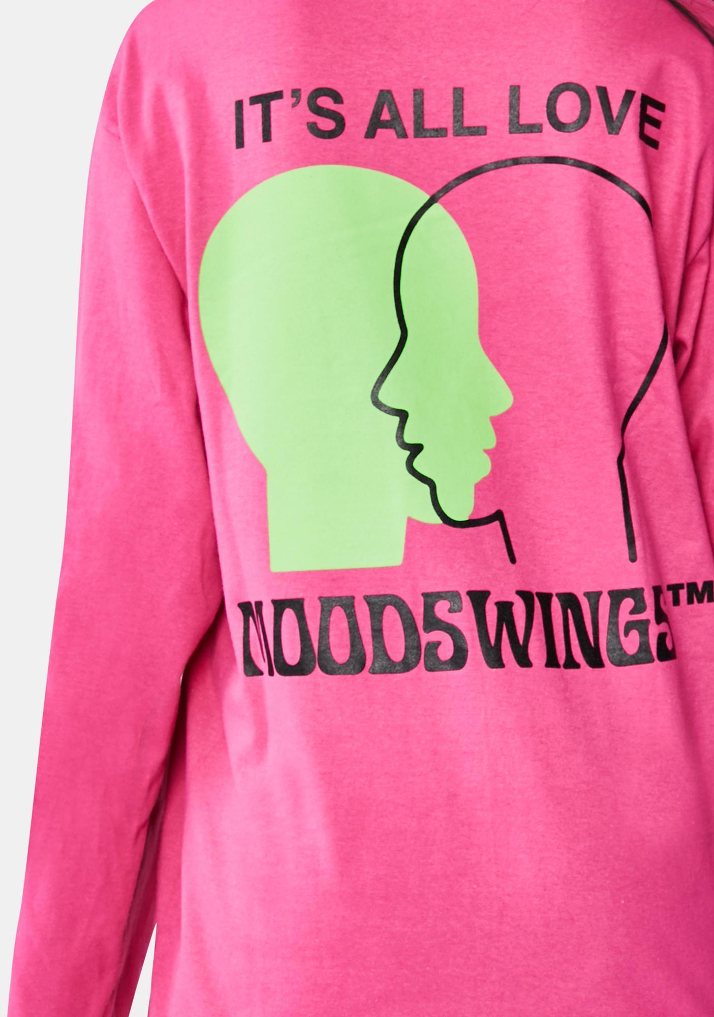 MOODSWINGS It's All Love Long Sleeve Graphic Tee