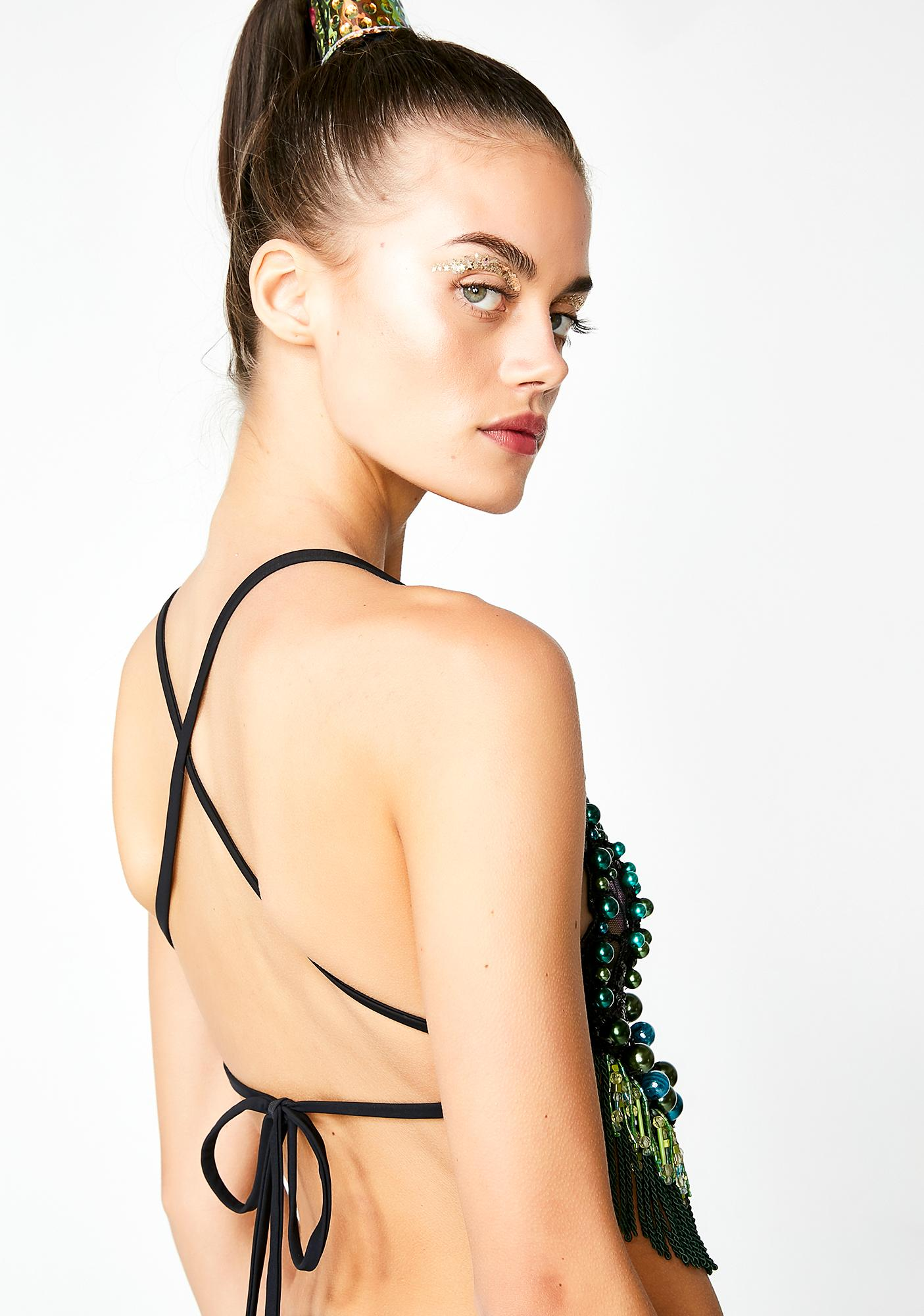 Nasteski Fashion Ivy Beaded Bralette