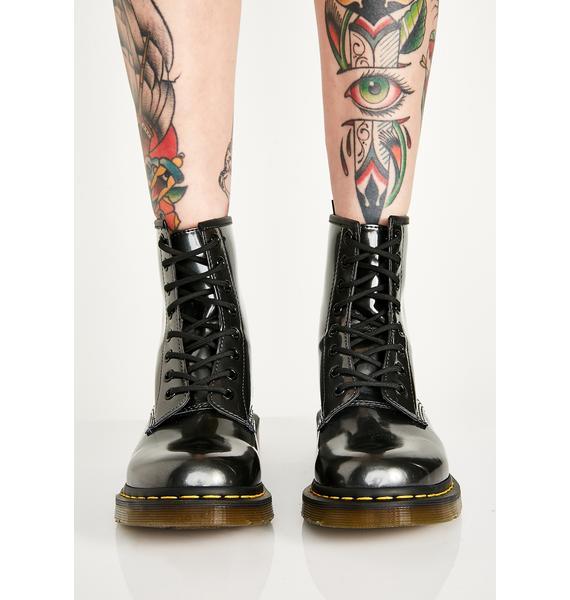 Dr. Martens 1460 Vegan Chrome Boots