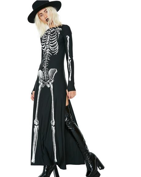 Bone-afied Babe Costume