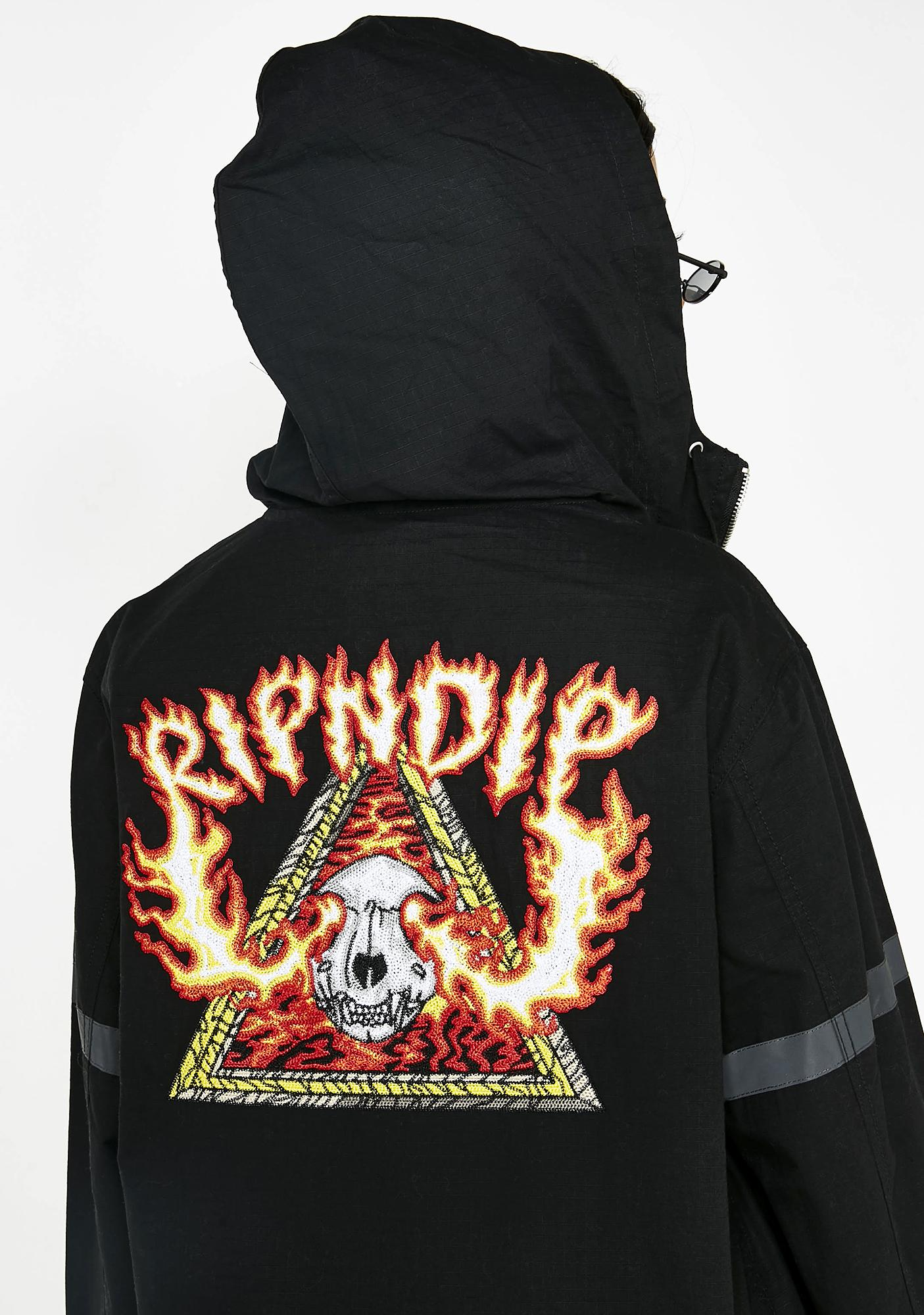 RIPNDIP Inferno Cotton Fisherman Jacket