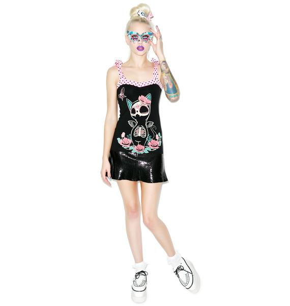 Too Fast Meurta Kitty Annabel Bow Tank