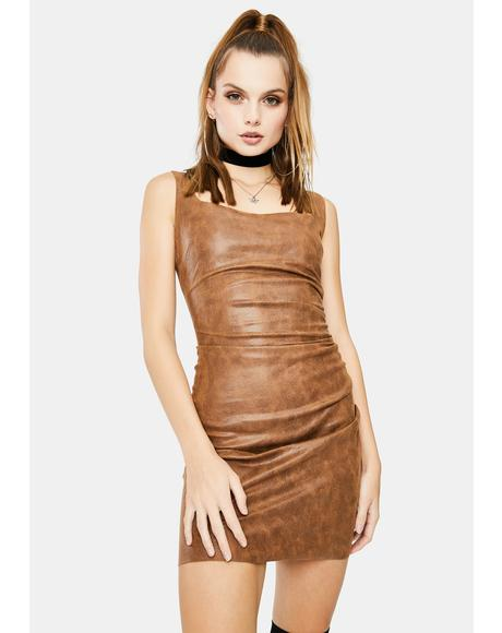 Brown Billie Dress
