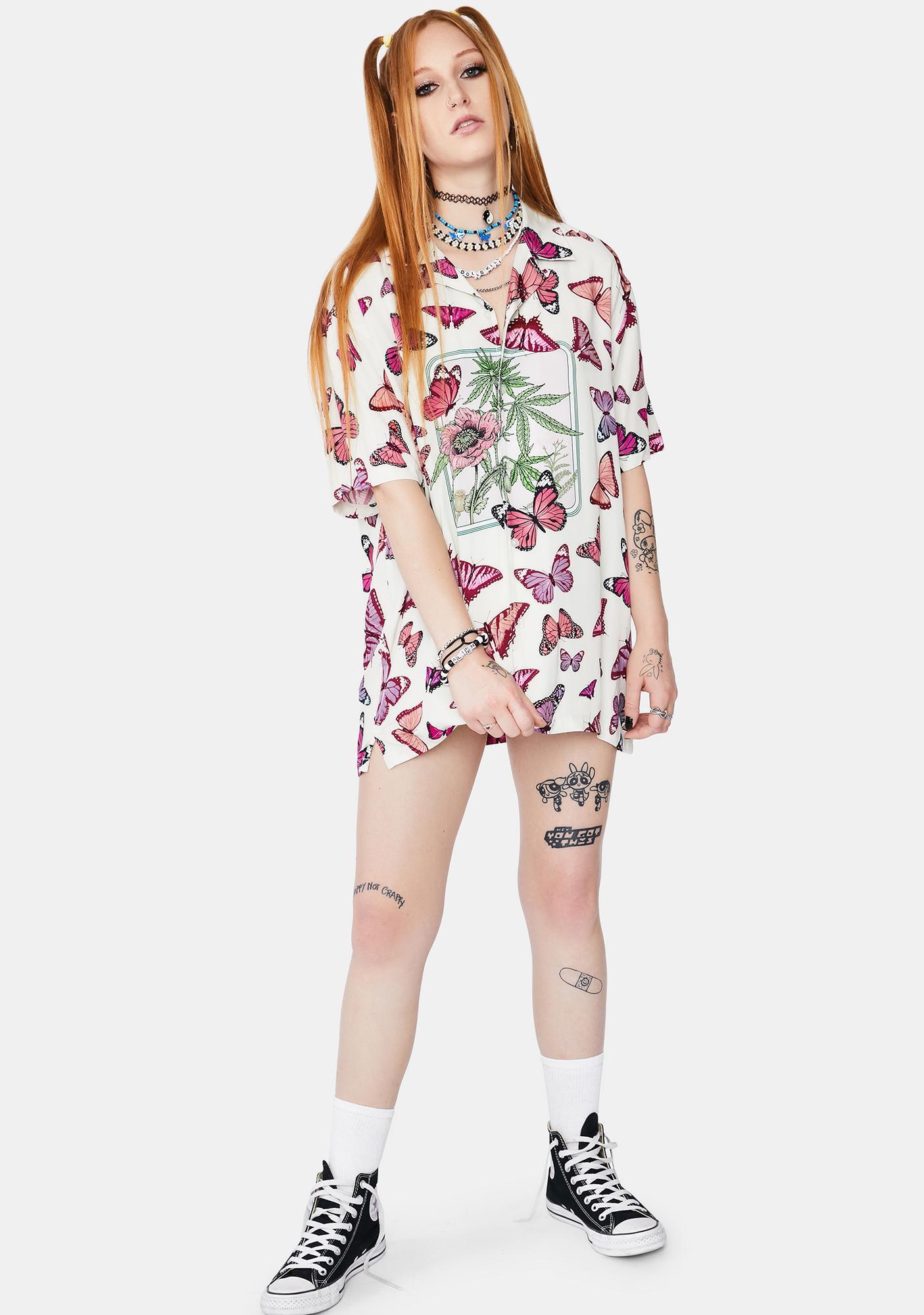 HUF Papillon Woven Shirt